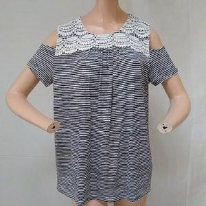 Rafaella Cold shoulder blouse PM